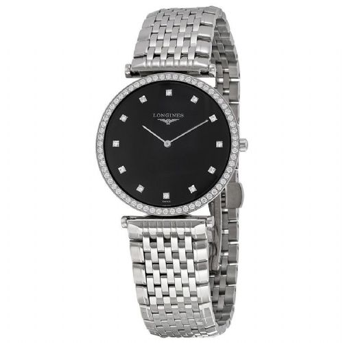 LONGINES La Grande Classique Diamond Ladies Watch L4.741.0.58.6